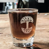 Oaklandish Trees Shot Glass