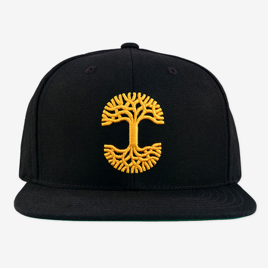 Oaklandish Classic Snapback Black with Gold
