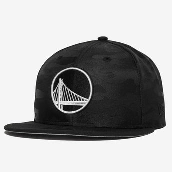 New Era Warriors Tonal Black Camo 950 Snapback