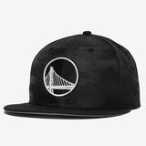 Cap - New Era 9Fifty Snapback, Warriors Patch, Black Camo