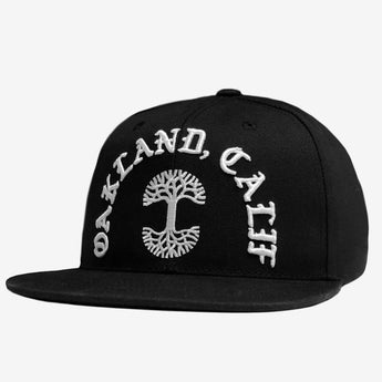 Oaklandish Cap - Black, Polyester, 3D Embroidery Logo