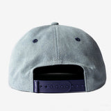 Swash Script Unstructured 6 Panel Snapback