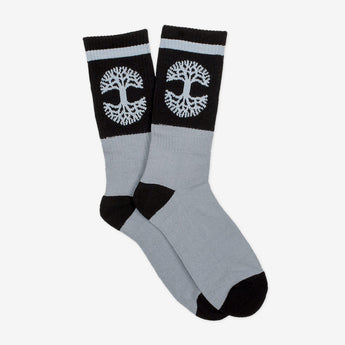 Black/Grey Oaklandish Sock