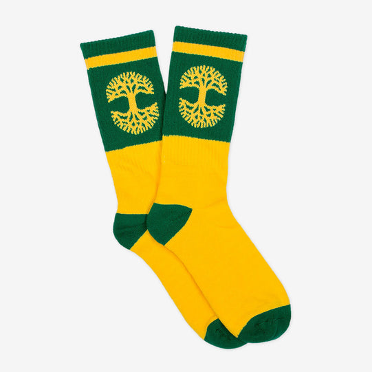 Green/Yellow Oaklandish Sock