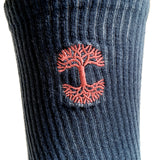 Men's Crew Socks - Oaklandish Logo, Dip-Dyed Dawn Sky Colors