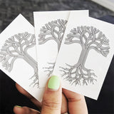 Classic Tree Temporary Tattoo