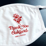 Thank You Oakland Standard Mask