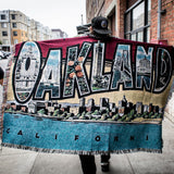 Greetings From Oakland Throw