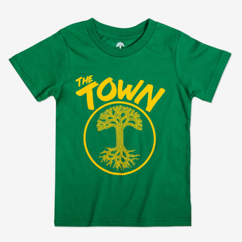 Youth T-Shirt - Forever Oakland, Kelly Green Cotton