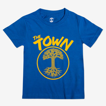 Youth T-Shirt - Forever Oakland, Royal Blue Cotton