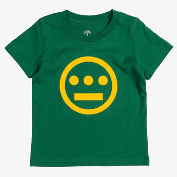 t-shirt - kelly green cotton - hieroglyphics hip hop collective logo -oaklandish