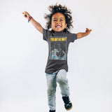 Kaiju Monster Attacking Oakland T-Shirt - Black Cotton Toddler - Oaklandish