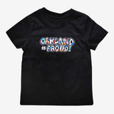 Del Phresh X Oaklandish Oakland is Proud Tee | Toddler