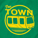 Toddler Town Bart Tee | Green & 100% Cotton