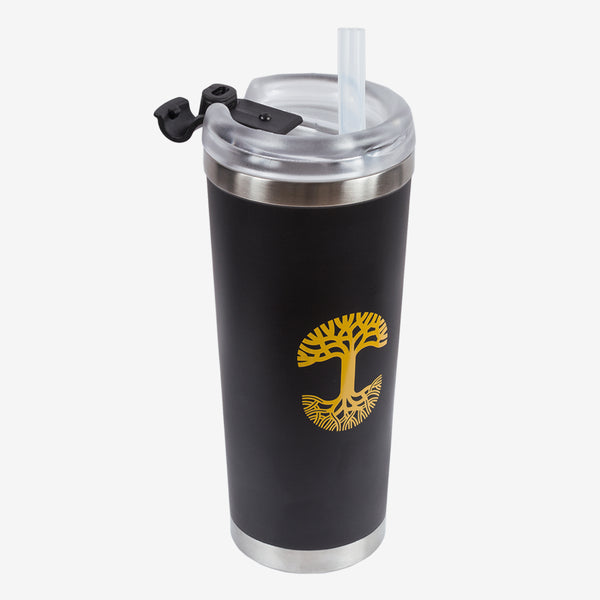 Oaklandish Tumbler w/ Straw