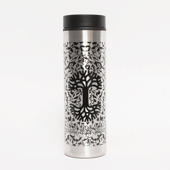 Travel Tumbler - Oaklandish Tree Logo, Double Wall Stainless Steel