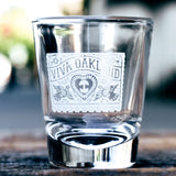 Viva Oakland Shot Glass