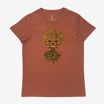 T-shirt | Cotton Women | Copper | Urban Aztec Jesse Hernandez