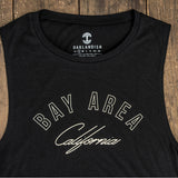 Women's Bay Area Arch Tank Top - Black