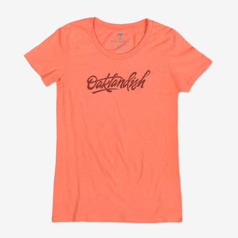 Women's Brush Letters Tee