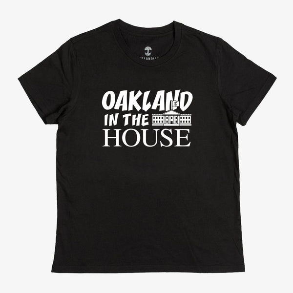 Women's Oakland in the House Tee