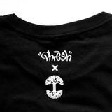 t-shirt - oakland is proud - del phresh x oaklandish - womens black