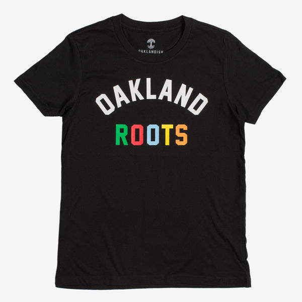 Women's Roots SC Origins Tee - Black Cotton
