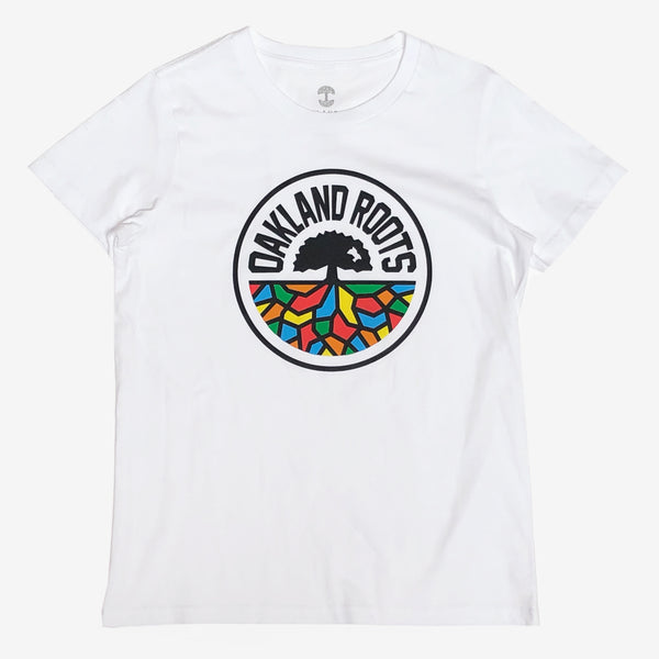Women's Roots SC Classic Tee - White Cotton