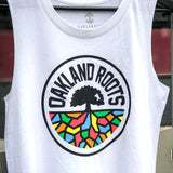 Women's Roots SC Logo Tank - White Cotton