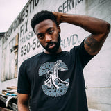 Beast Oakland X Oaklandish Tee - Black Crane Monster