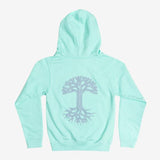 Youth Classic Oaklandish Logo Hoodie | Mint Green Fleece
