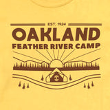 t-shirt-oakland feather river camp-oaklandish-daisy-cotton-youth