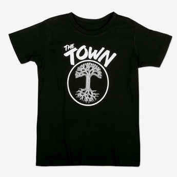 Youth T-Shirt - Forever Oakland, Black Cotton