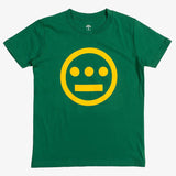 Hiero Logo Youth Sized Tee - Kelly Green