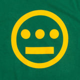 t-shirt -kelly green cotton - hieroglyphics hip hop collective logo -oaklandish