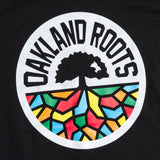 Youth T-Shirt - Roots SC X Oaklandish, Black Cotton