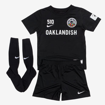 Toddler Roots SC Nike Kit Black