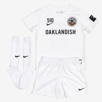Kid's Roots SC Nike Kit White