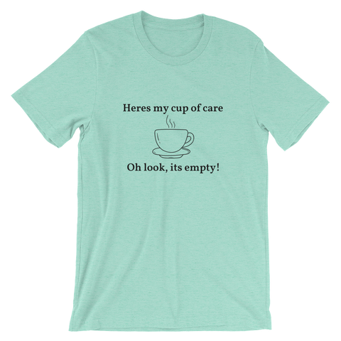 CUP OF CARE Short-Sleeve Unisex T-Shirt