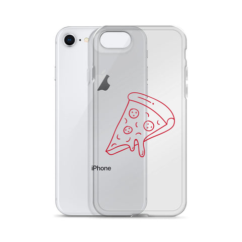 PIZZA outline iPhone Case
