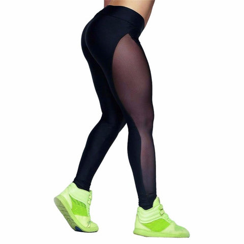 FULL SHEER TUSH TRAINER YOGA PANTS / LEGGINGS - Yoga , leggings - Pants
