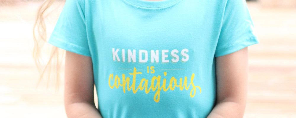New shirts: Kindness is contagious