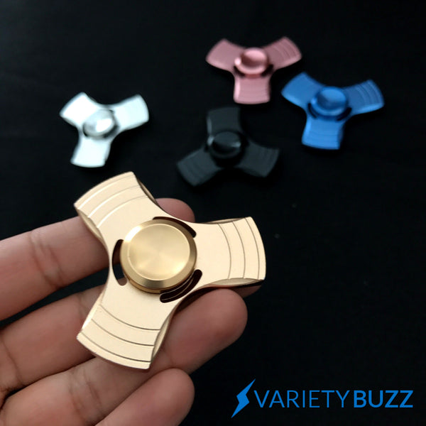 """Tri Master"" Metal Spinner - Gold Limited"