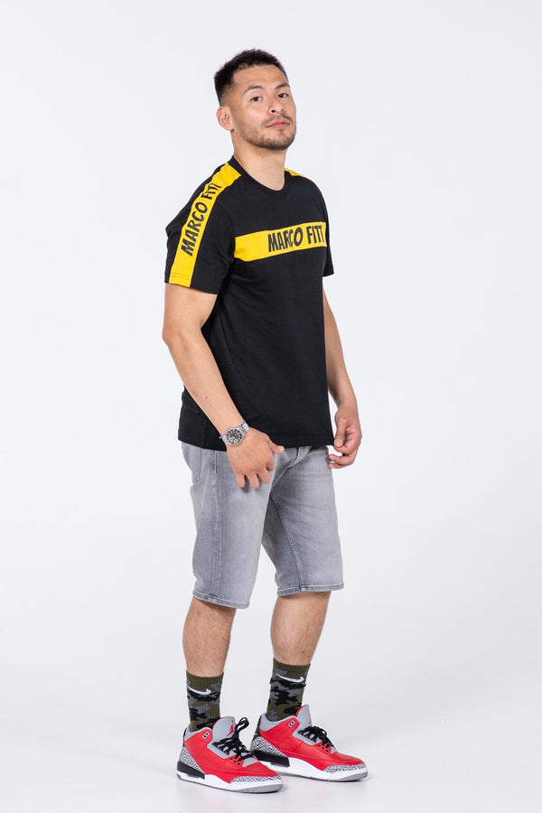 Men's Short Sleeve T-Shirt - MARCO FITT