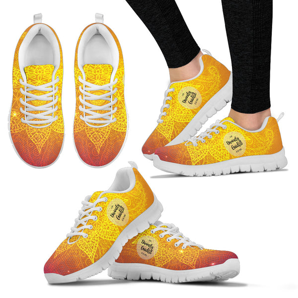 Divinely Guided custom mesh sneakers