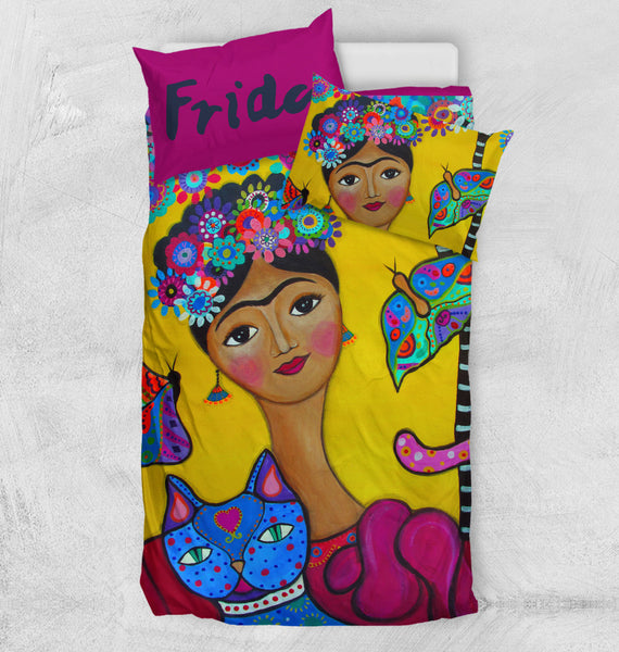 Frida Kahlo Custom Bedding Set