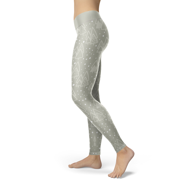 Sweet Silver Forest Leggings