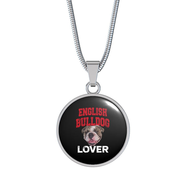 English Bulldog Lover Necklace