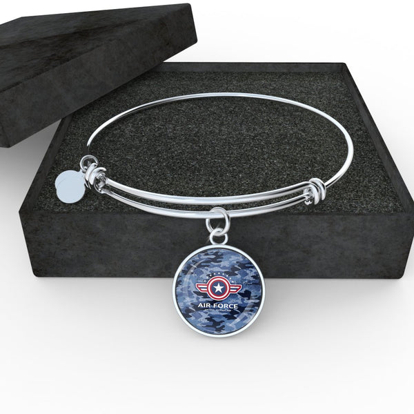 Air Force Bangle Bracelet