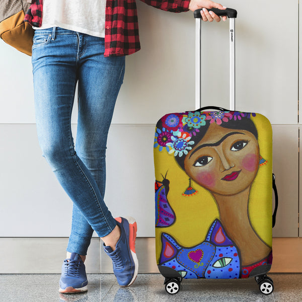 Frida Kahlo Luggage Covers
